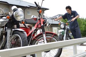 バイク買取の無料出張対応地域